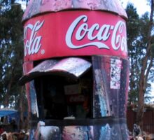 Coke Shop, Addis Ababa, Ethiopia Sticker
