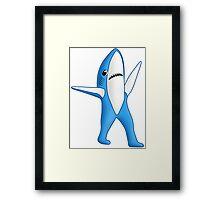 Super Bowl Shark 2 Framed Print