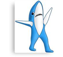 Super Bowl Shark 2 Canvas Print
