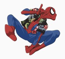 Aloha Spider-Man Kids Clothes