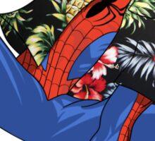 Aloha Spider-Man Sticker