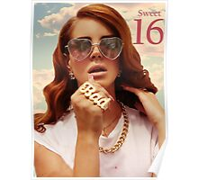 Adrianna's Sweet 16 Lana Poster and Invitations Poster