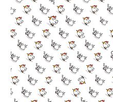Chicken Cows by chickenees