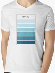 The Maine American Candy Paint Swatch Mens V-Neck T-Shirt