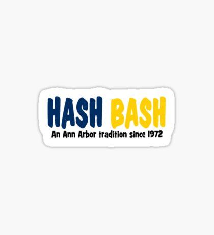 Hash Bash Sticker