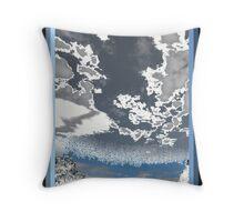 Ice Sky Throw Pillow