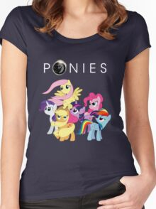 Ponies Women's Fitted Scoop T-Shirt