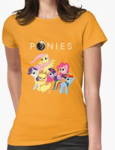Ponies Womens Fitted T-Shirt
