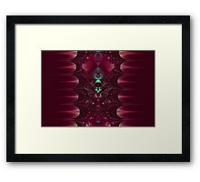 Red Fantasy Framed Print