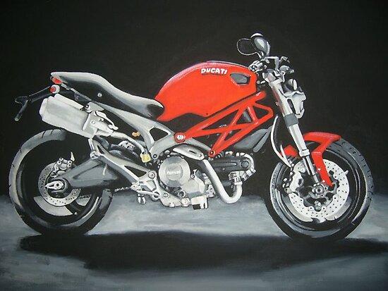 Ducati motorbike by vonnyk