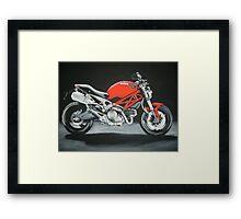 Ducati motorbike Framed Print