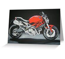 Ducati motorbike Greeting Card