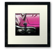Pink Cadillac Framed Print