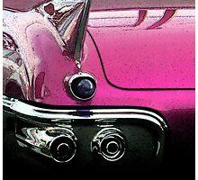 Pink Cadillac Photographic Print