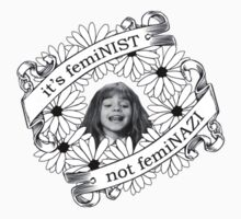It's Feminist, Not Feminazi by jordystories