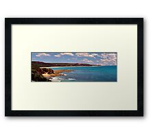 Point Addis - another view Framed Print