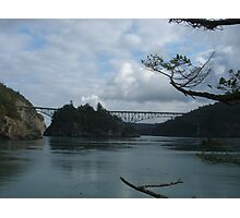 Deception Pass Bridge Photographic Print