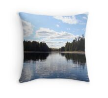 Hailstorm Creek - Algonquin Park Throw Pillow