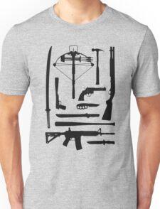 The Walking Dead Weapons Unisex T-Shirt
