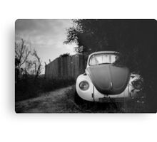 hidden in bushes Metal Print