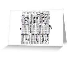 d-botts Greeting Card