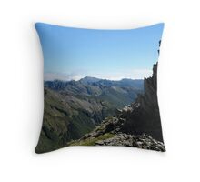 Kakapo Peak Throw Pillow