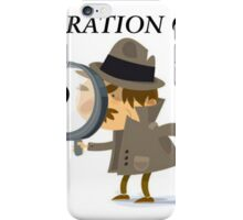 Moderation Check Banner iPhone Case/Skin