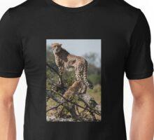 Cheetah Mum with cub Unisex T-Shirt