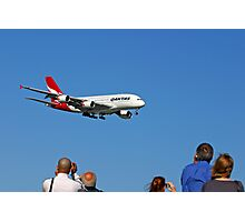 Qantas A380  Photographic Print