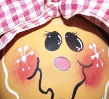 Gingerbread Girl Sticker