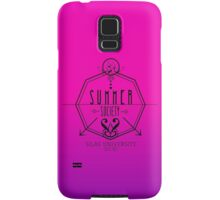 Silas University Summer Society- coloured Samsung Galaxy Case/Skin