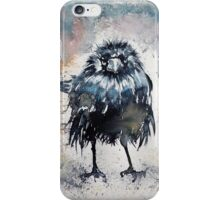 Crow after rain iPhone Case/Skin