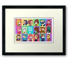 Animal Crossing: New Leaf Framed Print