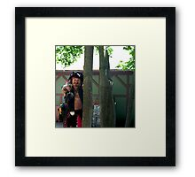 Thief! Framed Print