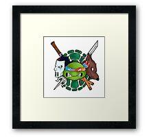 TMNT Emblem Framed Print