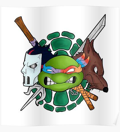 TMNT Emblem Poster