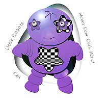 Oki Purple Robot - Never Fear Oki's Here! by migaloomagic