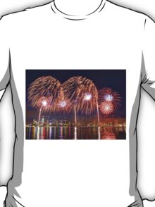 Perth WA Skyworks Australia Day 2015 - 2 - HDR T-Shirt