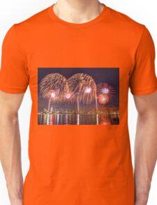 Perth WA Skyworks Australia Day 2015 - 2 - HDR Unisex T-Shirt