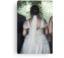 Wedding Gown  Canvas Print