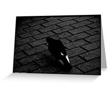 Le Pigeon Greeting Card