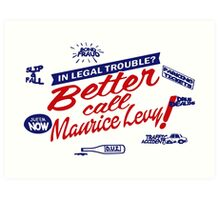 Better call Maurice Levy - (The Wire) Art Print