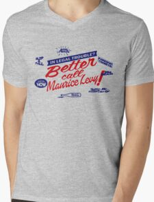 Better call Maurice Levy - (The Wire) Mens V-Neck T-Shirt