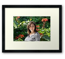 Guess Who! Framed Print