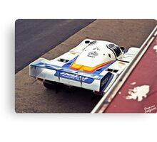 Porsche 956 - Sandown Canvas Print