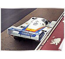Porsche 956 - Sandown Poster