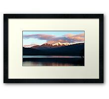 Lake Te Anau Framed Print