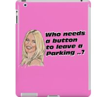who need button ... iPad Case/Skin