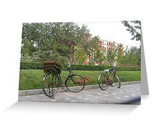 Bike city Greeting Card
