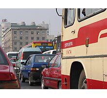 Beijing Traffic Photographic Print